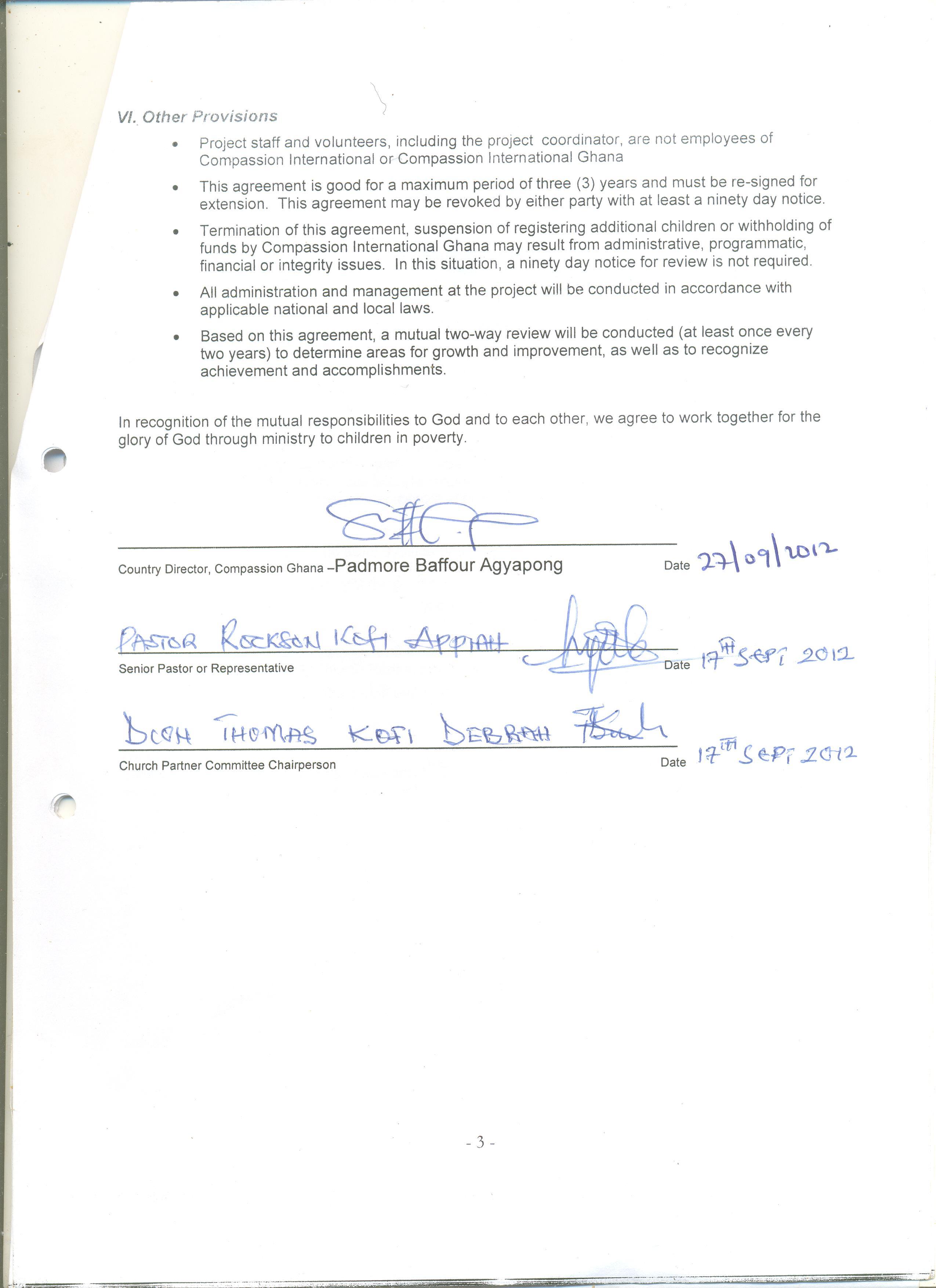 Sawer apostolic child development centre corporate ngo partnerships partnership agreement form page1 partnership agreement form page2 platinumwayz