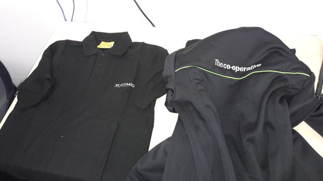 5 boxes of unused work uniform samples | Corporate NGO