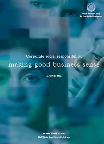 good business sense It makes good business sense to choose activities that result in your company making enough money to sustain itself in bad economic times and increase profits in good economic times.