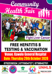 Kawolo Community Health outreach with free hepatitis services