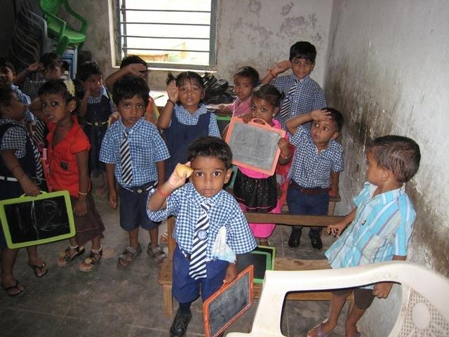 Education for poor children in Andhra Pradesh, India ...
