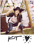 KT Tunstall in her Hunter WaterAid Wellies at Glastonbury. http://www.wateraid.org/uk/about_us/newsroom/6553.asp