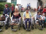 Wheelchairs distribution