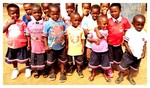 Children under Plog Ghana attending our SHALOM INTERNATIONAL MONTESSORI SCHOOL (SIMS)