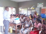 Antenatal clinic in the health centers
