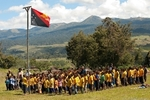 Education Brings Lasting Change- Papua New Guinea - A new School just started.